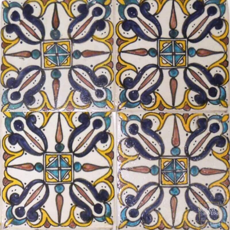 Mediterranean Pool Tiles San Francisco