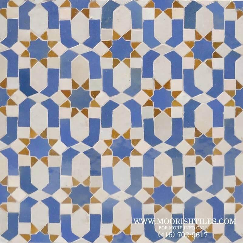 Moroccan bathroom tile