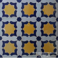 Moroccan pool tile