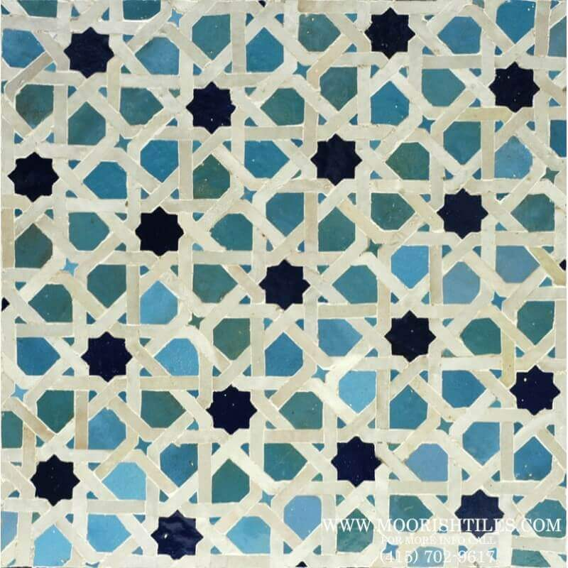 Moroccan kitchen tiles