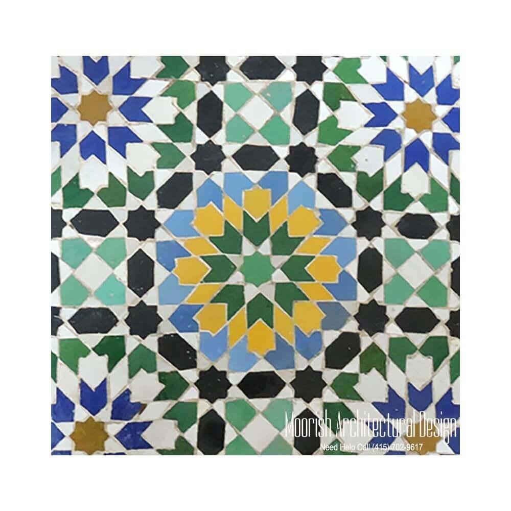 Spanish Pool Tile Moorish Mosaic Tile Mexican Tiles
