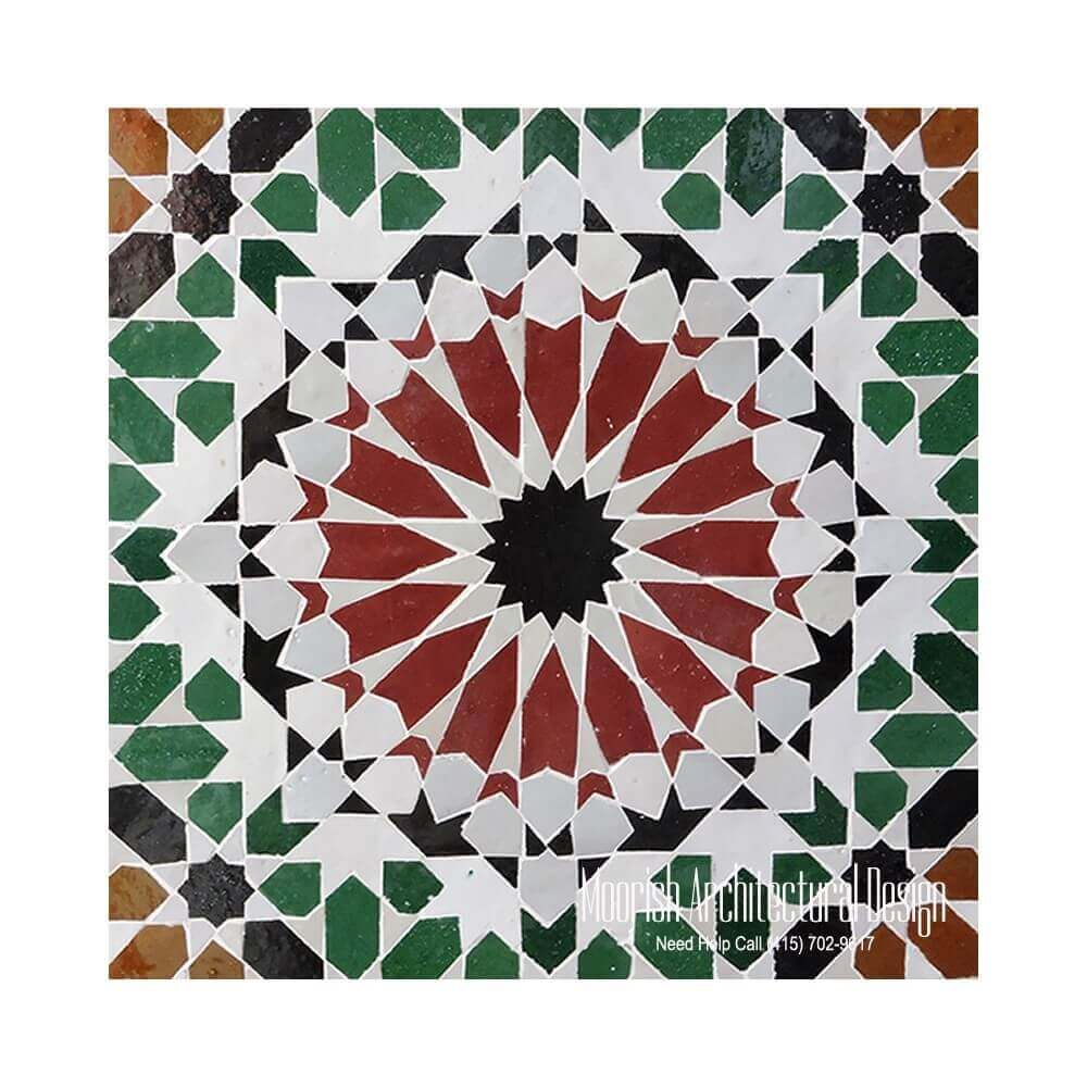 Manufacturer Of Moroccan Ceramic Tiles
