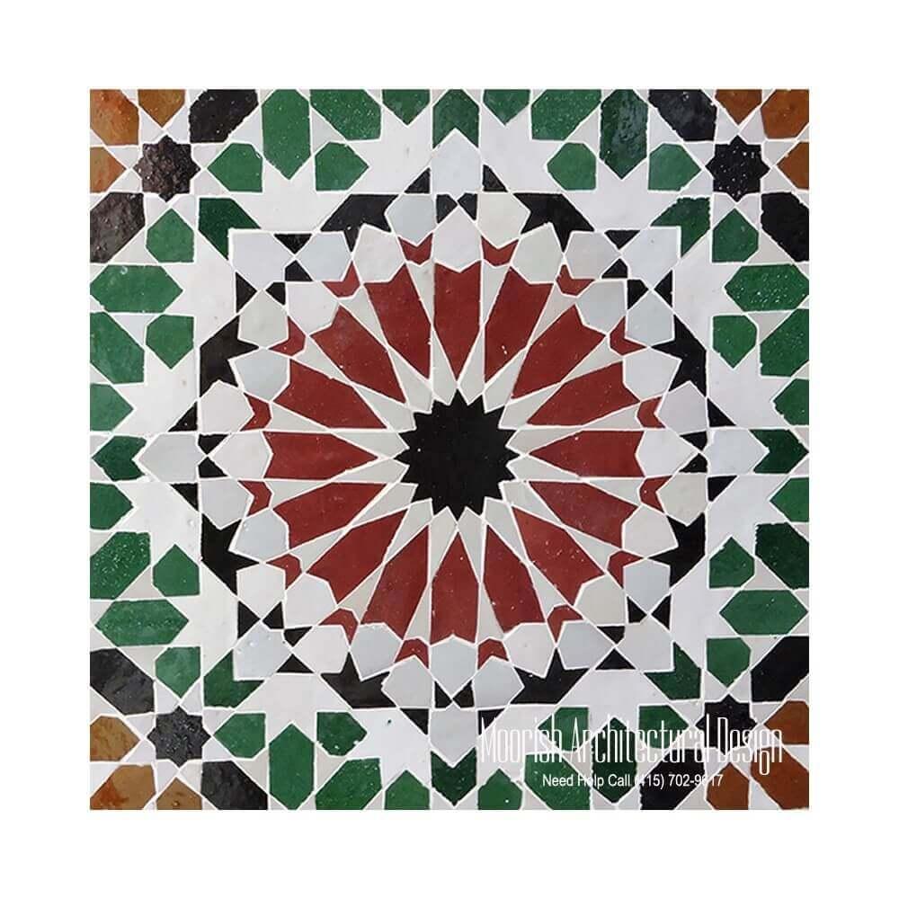 Manufacturer Of Moroccan Ceramic Tiles
