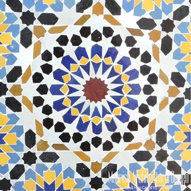 Moroccan Tile Moorish Tiles Specialist Cove Neck New York