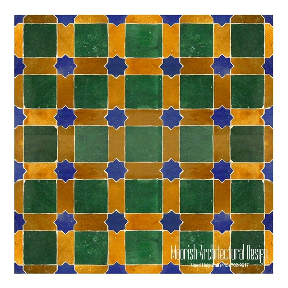 Moroccan Fireplace Tile Moorish Tile Zellige