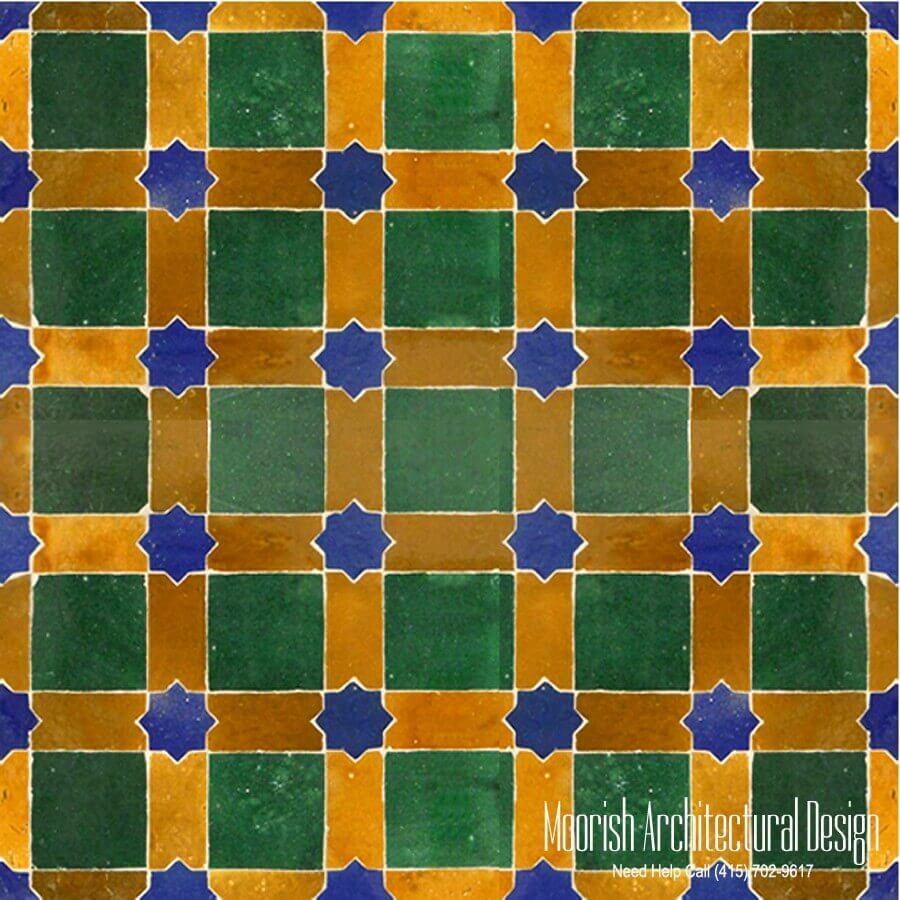 Moroccan Fireplace Tile Moorish Tile Zellige