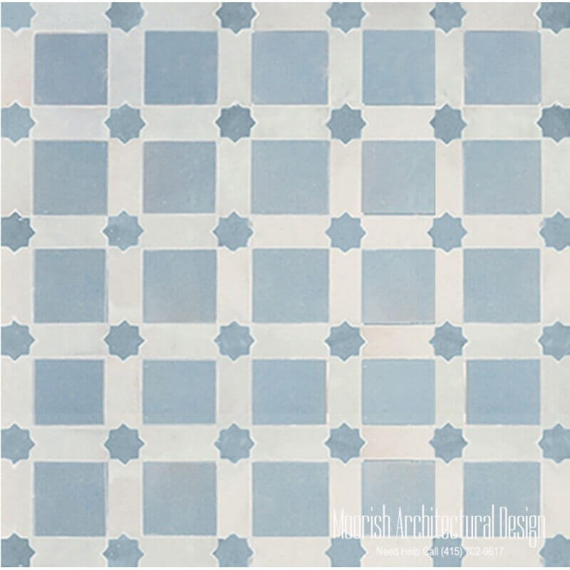 Moroccan Ceramic Floor Tiles Moorish Tile Zellige Mosaic