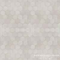 White Hexagon Tile