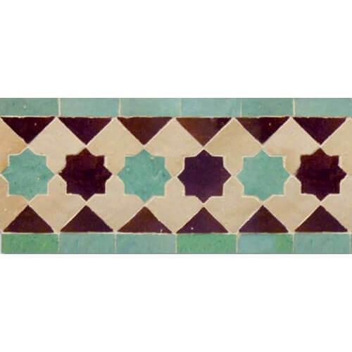 Moroccan Kitchen Tile Border