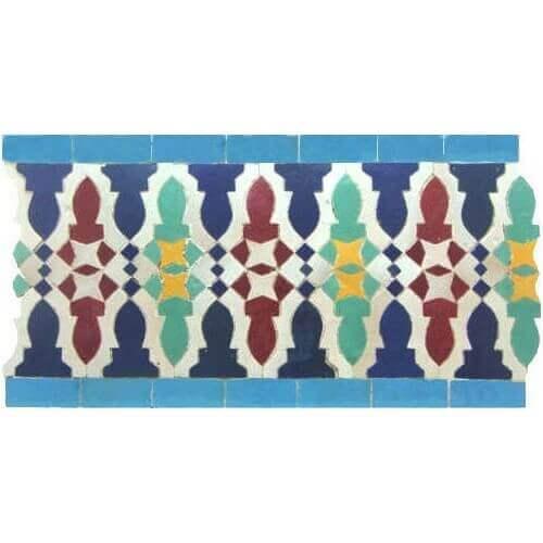 Moroccan Border Tile 37