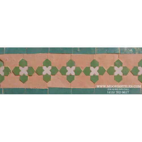Moroccan Border Tile 47