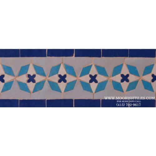 Moroccan Border Tile 55