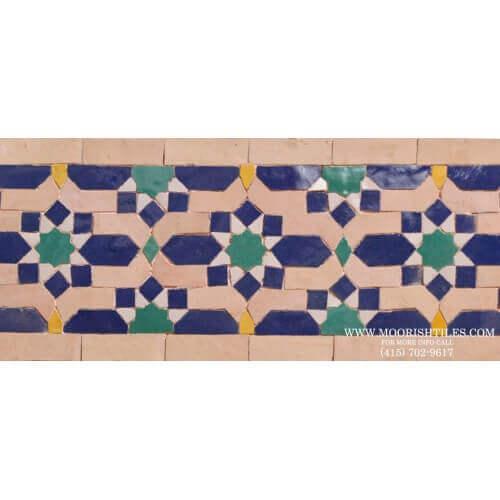 Moroccan Border Tile 59