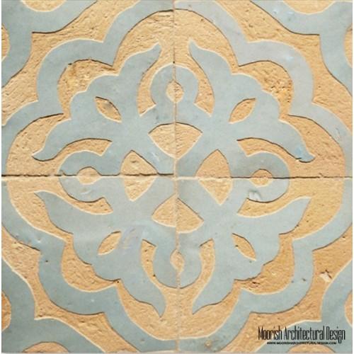 Rustic Moorish Tile 01