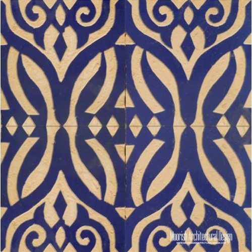Rustic Moorish Tile 03