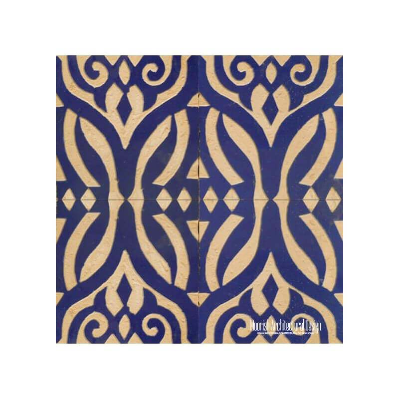 Rustic Moorish Tile