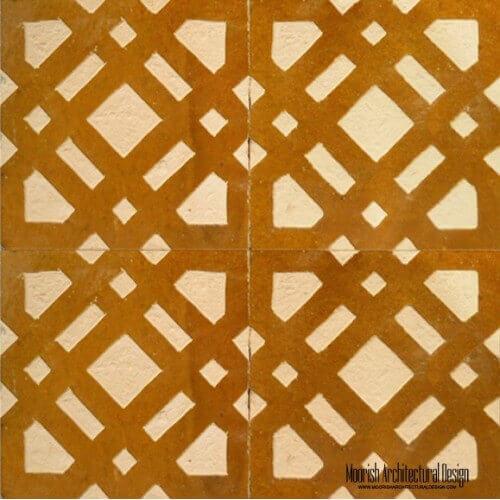 Rustic Moorish Tile 04