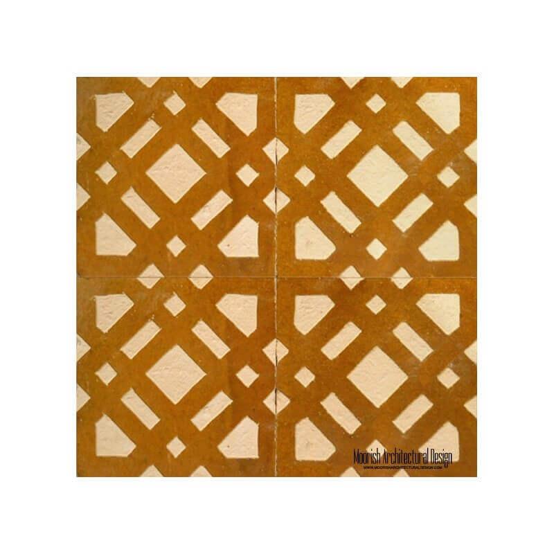 Rustic Moorish Tile kitchen