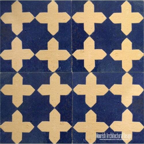 Rustic Moorish Tile 07