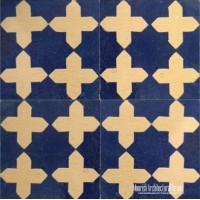 Rustic Moorish pool tile