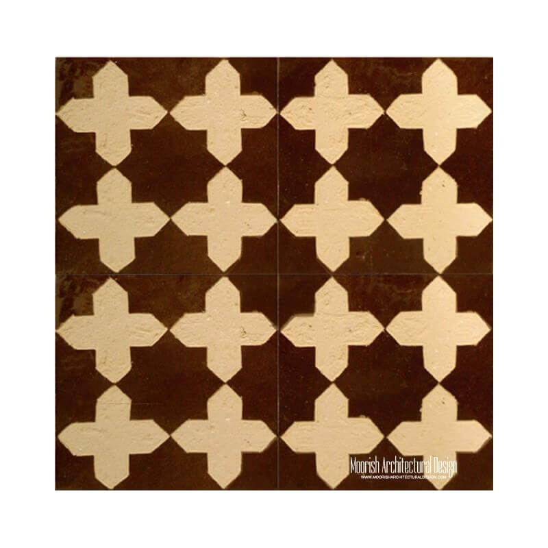 Rustic Moorish fountain Tile