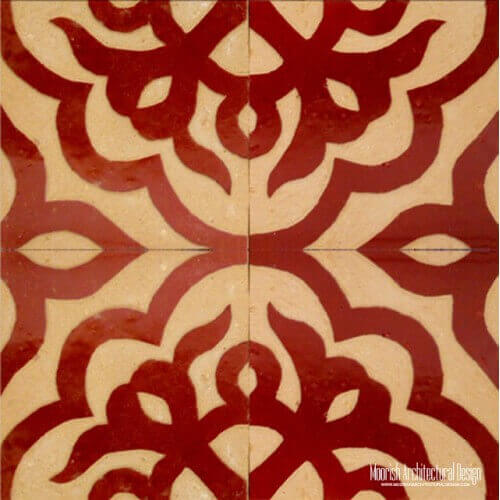 Rustic Moorish Tile 16