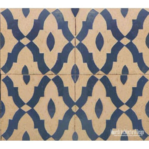 Rustic Moorish Tile 18