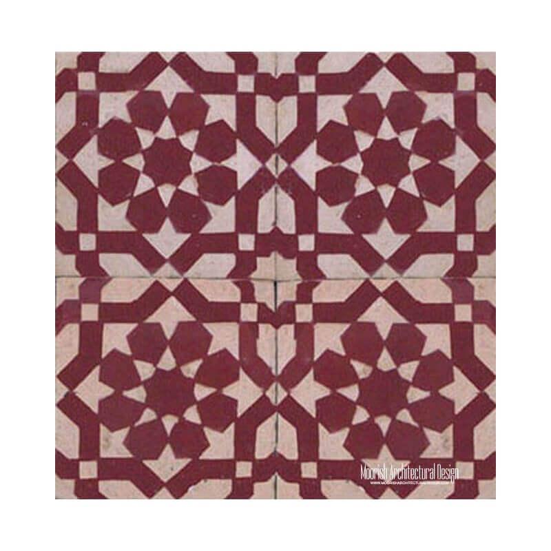 Rustic pool tiles