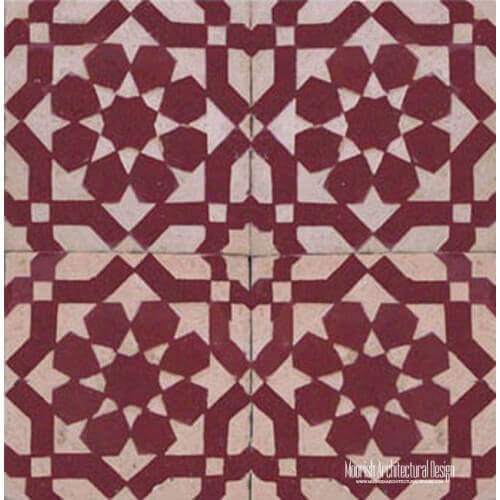 Rustic Moorish Tile 20