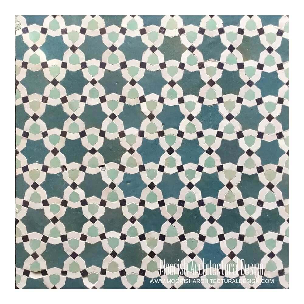 Islamic Tile Patterns: Moroccan Tile