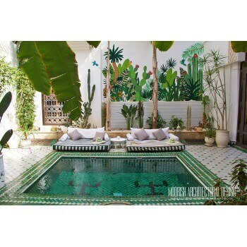 Moroccan Pool Tiles Ideas